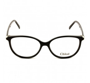 Chloé CE 2657 Preto/Dourado 001 53mm - Óculos de Grau