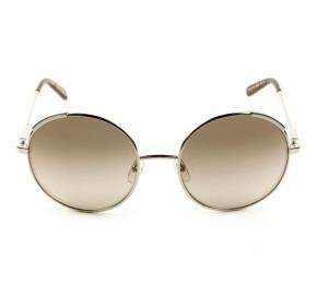 Chloé CE 117S Marrom/Dourado Degradê 743 56mm - Óculos de Sol