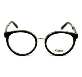 Chloé CE 2710 Preto Brilho 001 53mm - Óculos de Grau