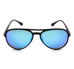 Ray Ban Chromance RB 4320-CH  - Preto/Azul Espelhado Polarizado 601-S/A1 58mm - Óculos de Sol