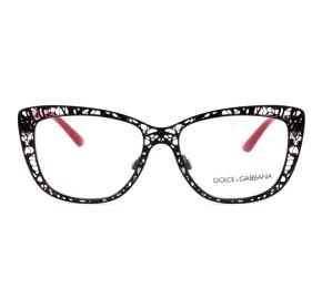 Óculos Dolce Gabbana DG 1287 01 52 - Grau