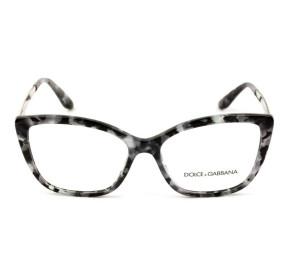 Dolce & Gabbana DG3280 - Mesclado/Prata 3132 54mm - Óculos de Grau