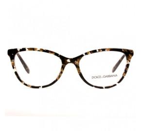 Dolce & Gabbana DG3258 Mesclado/Dourado 911 54mm - Óculos de Grau