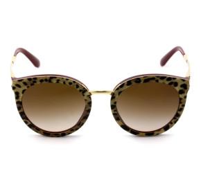 Dolce & Gabbana DG4268 - Óculos de Sol Oncinha/Vinho 3155/13 Lentes 52mm