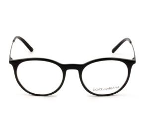 Dolce & Gabbana DG5031 - Óculos de Grau 501 Preto Lentes 51mm