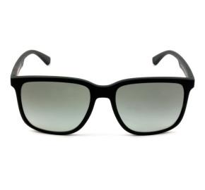 Emporio Armani EA4104 - Preto Fosco/Cinza Degradê 5063/11 57mm - Óculos de Sol