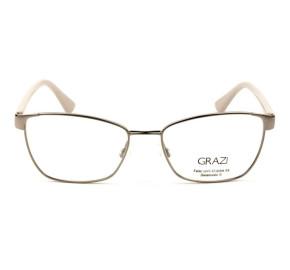 Grazi Massafera GZ1010B - Dourado/Nude E815 52mm - Óculos de Grau