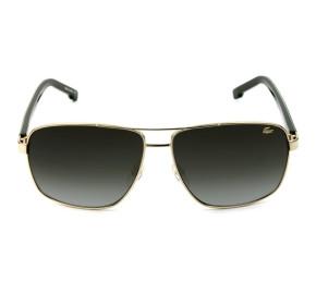 Lacoste L162S - Óculos de Sol Prata/Cinza Degradê 714 Lentes 61MM