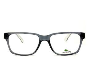 Lacoste L2692 - Cinza/Branco 035 54mm - Óculos de Grau