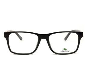 Lacoste L2741 - Preto/Branco 001 53mm - Óculos de Grau