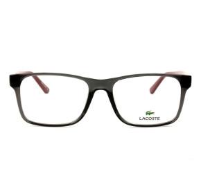 Lacoste L2741 - Cinza/Vinho 035 53mm - Óculos de Grau