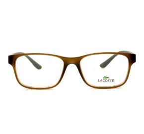 Lacoste L3804B - Marrom/Verde 210 51mm - Óculos de Grau