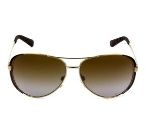 Michael Kors MK5004 Chelsea - Óculos de Sol 1014T5 Marrom/Dourado Lentes 59mm