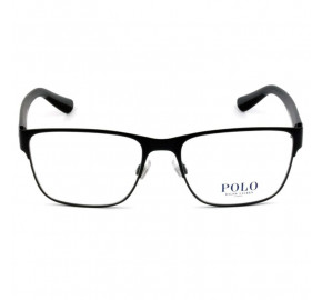 Polo Ralph Lauren PH1186 - Preto Fosco 9038 56mm - Óculos de Grau