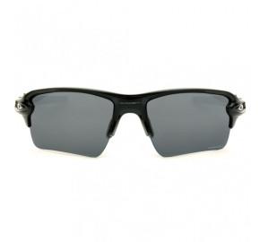 Oakley Flak 2.0 OO9188 - Preto/Cinza Semi Espelhado Polarizado 7259 59mm - Óculos de Sol