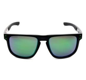 Oakley Holbrook R OO9377 - Preto/Verde Espelhado 55mm - Óculos de Sol