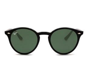 Ray Ban Round RB2180 - Preto/G15 601/71 51mm - Óculos de Sol