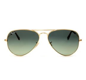 Ray Ban Aviador RB3025 Dourado/Cinza Degradê 181/71 58mm - Óculos de Sol