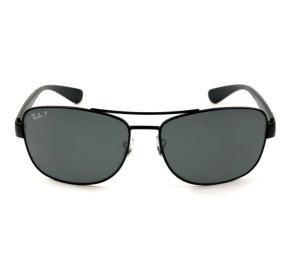 Ray Ban RB3518L Preto Brilho/G15 Polarizado 006/81 63mm - Óculos de Sol