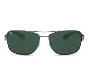 Ray Ban RB3518L Preto/Cinza 029/71 63mm - Óculos de Sol