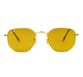 Ray Ban Hexagonal RB3548N - Dourado 001/93 51mm - Óculos de Sol