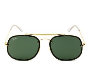 Ray Ban General Blaze RB3583-N - Dourado/G15 9050/71 58mm - Óculos de Sol