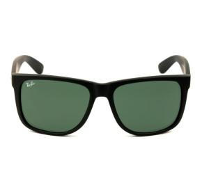 Ray Ban Justin RB4165L - Preto Fosco/G15 622/71 57mm - Óculos de Sol