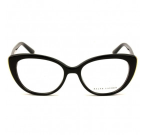 Ralph Lauren RL6172 - Preto/Dourado 5001 53mm - Óculos de Grau