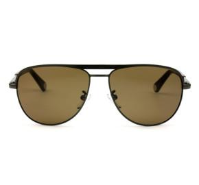 Carolina Herrera SHE086 - Cinza/Marrom COL0584 59mm - Óculos de Sol