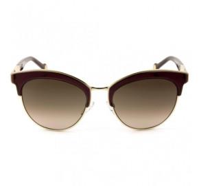 Carolina Herrera SHE101 - Vinho/Marrom Degradê 0A93 52mm - Óculos de Sol