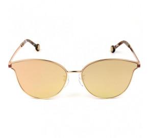 Carolina Herrera SHE104 - Dourado/Rose Espelhado 8FCX 59mm - Óculos de Sol