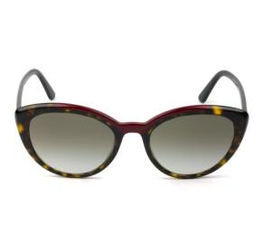 Prada SPR 02V - Turtle/Marrom Degradê 320-0A7 54mm - Óculos de Sol