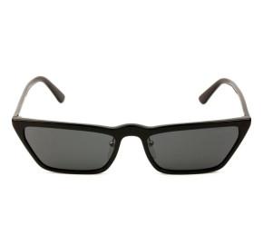 Óculos Prada Gatinho SPR 19U - Preto/G15 1AB-5S0 58mm - Óculos de Sol