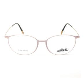 Silhouette SPX1580 - Rose/Dourado 75 6530 52mm - Óculos de Grau