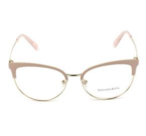 Óculos de Grau Tiffany & Co TF1132 Rosa/Dourado 6132 Lentes 51mm