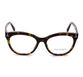 Tiffany & Co TF2166 - Óculos de Grau 8015 Turtle e Dourado Lentes 51mm
