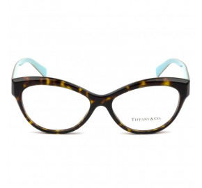 Tiffany & Co TF2176 - Óculos de Grau Turtle/Azul 8015 Lentes 53MM