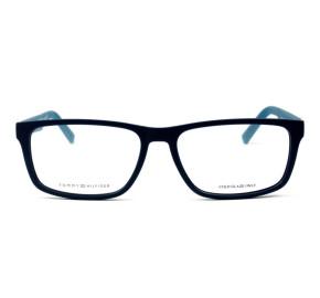 Tommy Hilfiger TH1404 - Azul Fosco R6I 55mm - Óculos de Grau