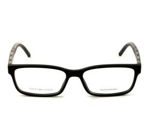 Tommy Hilfiger TH1495 - Preto Fosco 807 54mm - Óculos de Grau