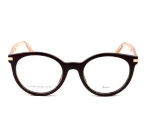 Tommy Hilfiger TH1518 - Vinho/Dourado B3V 48mm - Óculos de Grau