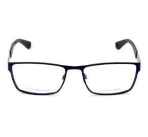 Tommy Hilfiger TH1543 - Azul/Preto Fosco PJP 56mm - Óculos de Grau