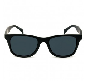 Tommy Hilfiger TH181 - Preto Fosco/Cinza 003IR 52mm - Óculos de Sol