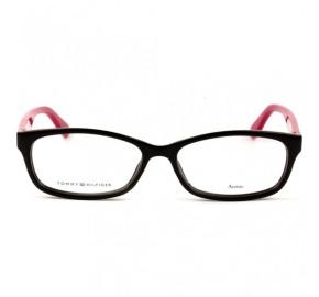 Tommy Hilfiger TH1491 - Preto/Rosa 807 53mm - Óculos de Grau
