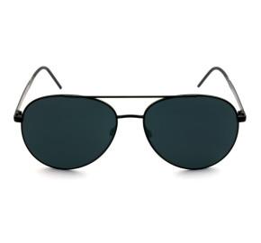 Tommy Hilfiger TH1653/S - Preto Fosco/Cinza 003IR 59mm - Óculos de Sol