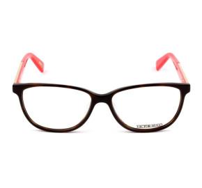 Victor Hugo VH1735 - Turtle/Laranja 01AY 54mm - Óculos de Grau