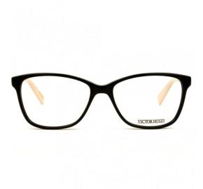 Victor Hugo VH1736 - Preto/Nude 700Y 53mm - Óculos de Grau