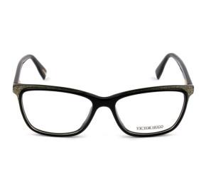 Victor Hugo VH1771 - Preto/Glitter 09G5 54mm -  Óculos de Grau