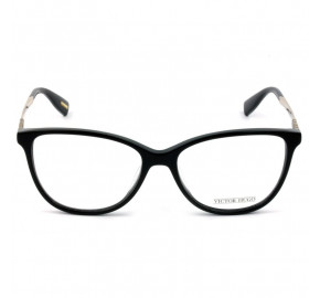 Victor Hugo VH1773S - Preto/Dourado 0700 54mm - Óculos de Grau