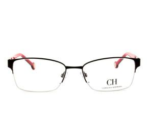 Óculos Carolina Herrera VHE 095 - Preto/Rosa 0530 53mm - Óculos de Grau