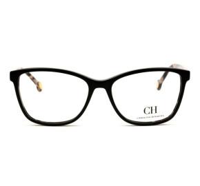 Óculos Carolina Herrera VHE 717 - Preto/Turtle 700Y 54mm - Óculos de Grau